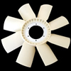 RADIATOR FAN/8 WINGS/ NYLON -SCANIA 113